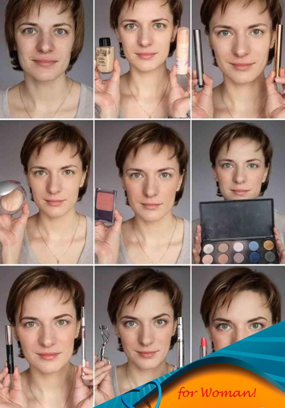 Как сделать макияж лица в домашних условиях фото пошагово