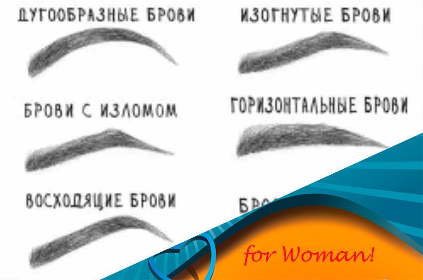 Как из прямых бровей сделать изогнутые брови 330